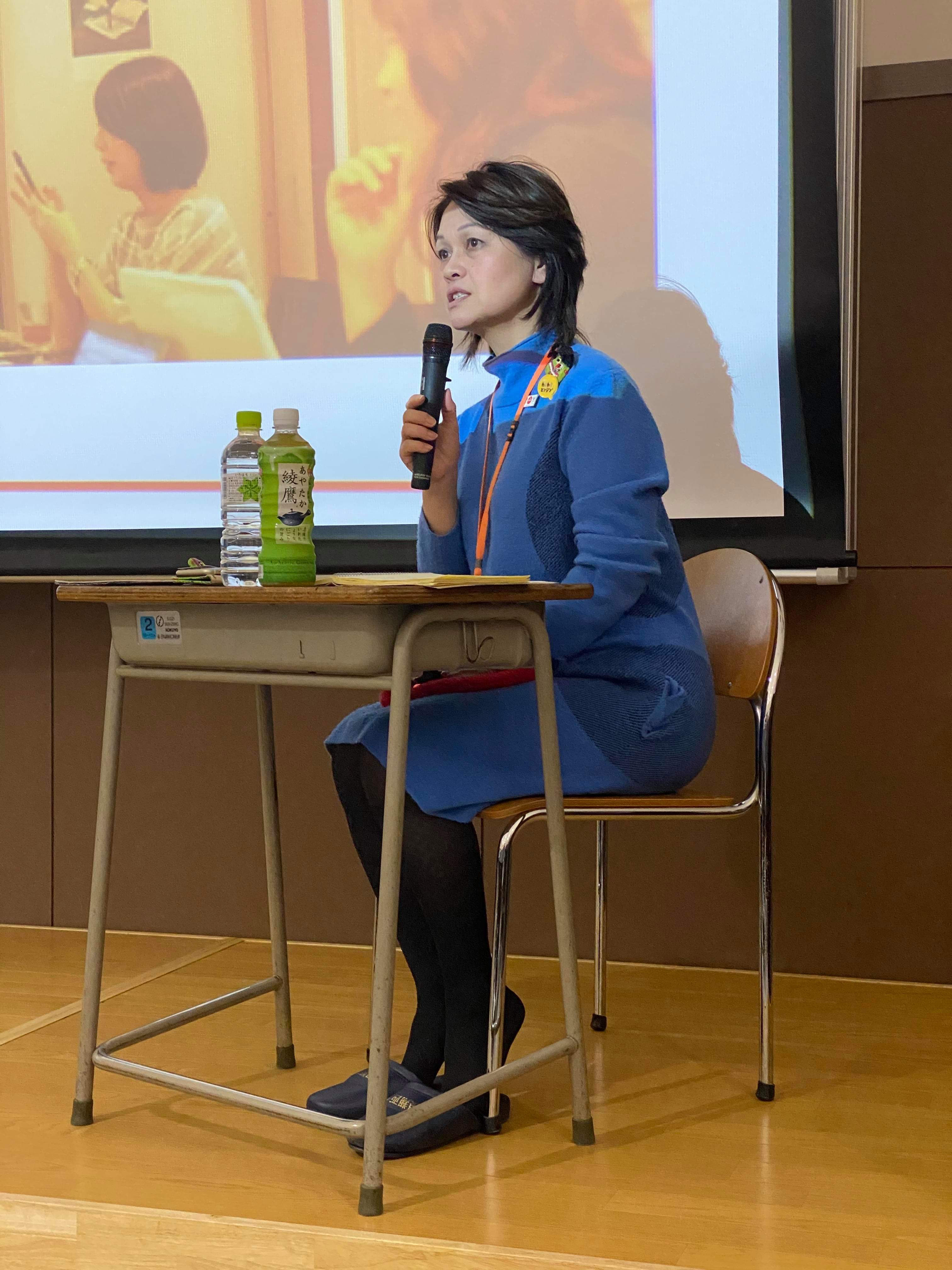 滋賀県立彦根翔西館高等学校行ってきました!